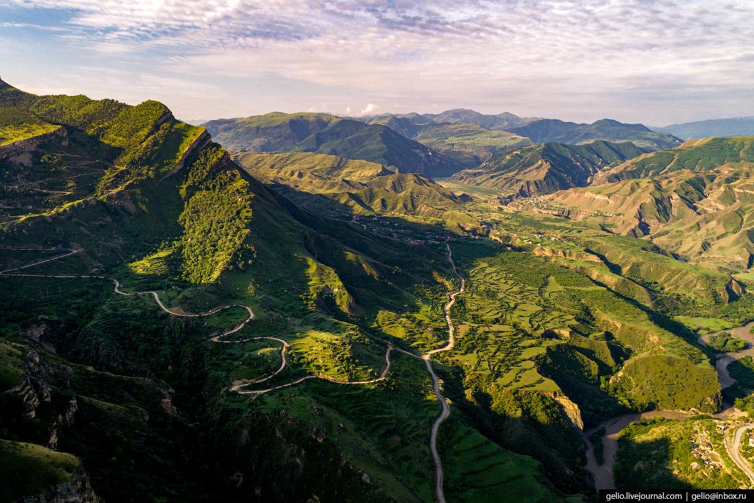село гуниб дагестан горы кавказ