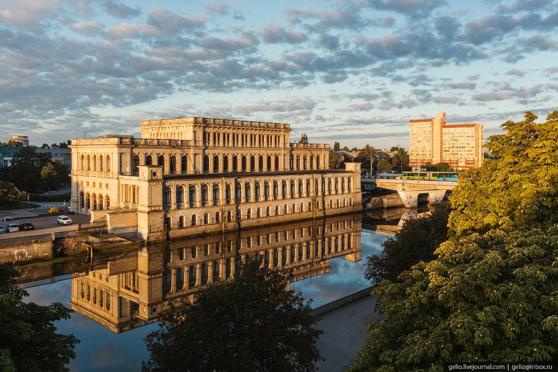 калининград, калининград с высоты, музей изобразительных искусств