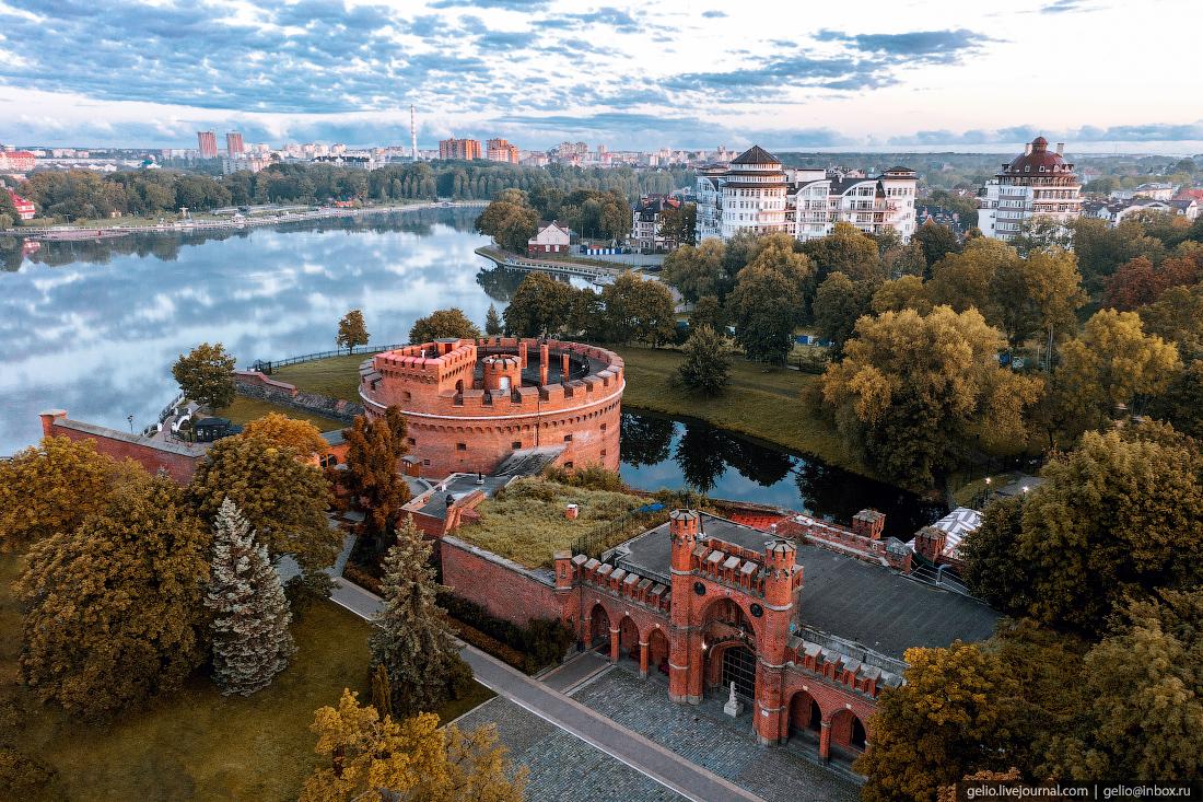 калининград, калининград с высоты, башня дона