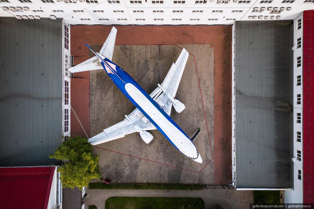 калининград, калининград с высоты, Боинг 737, бфу