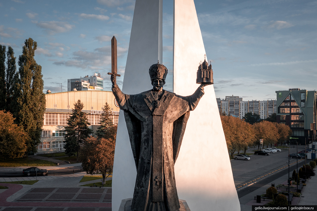 калининград, калининград с высоты, Николай Чудотворец