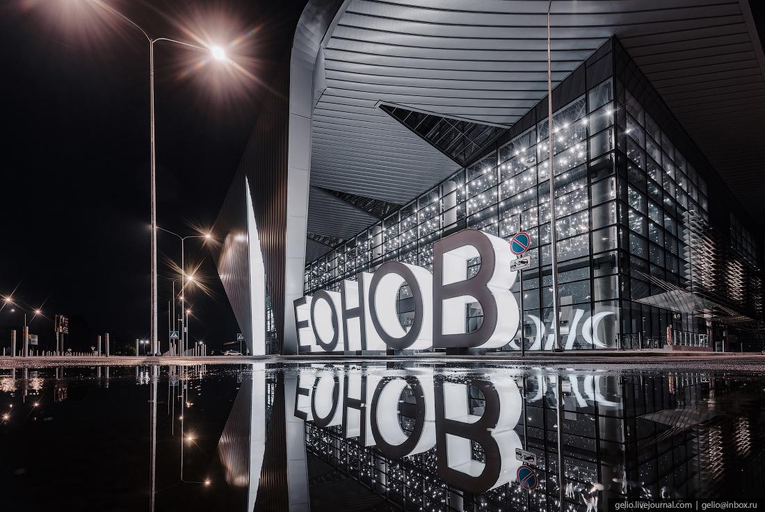 леонов, аэропорт, кемерово, кузбасс, архитектура, новый терминал