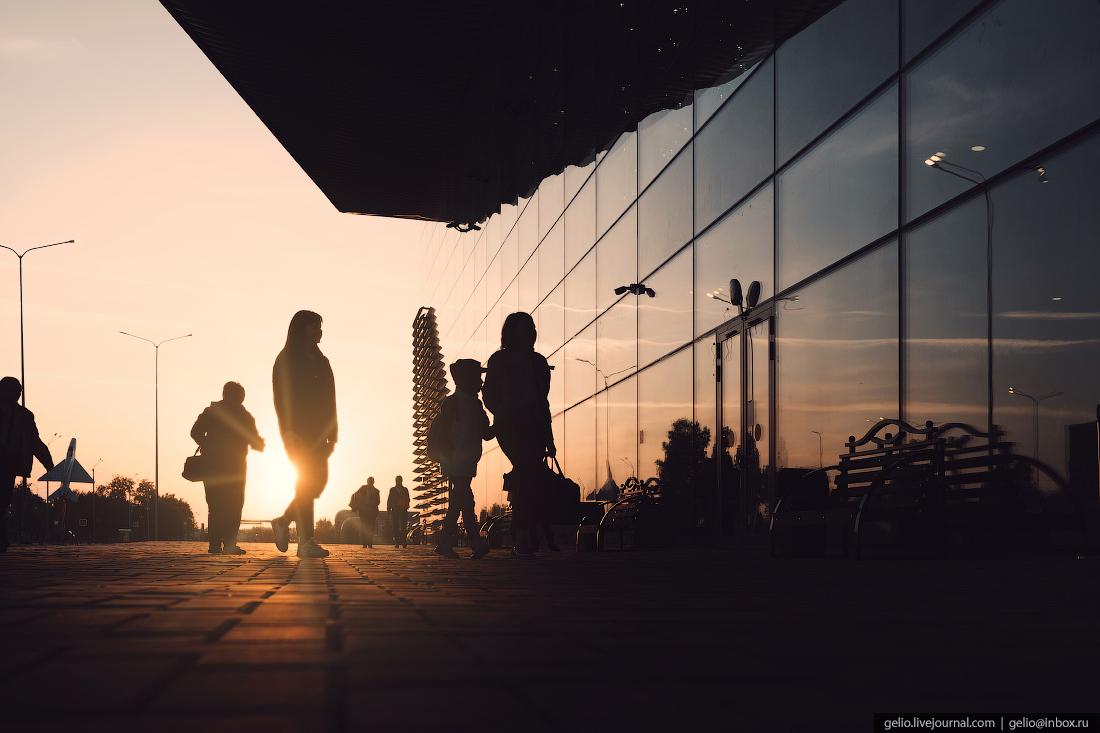 силуэт, аэропорт, кемерово, кузбасс, архитектура, новый терминал
