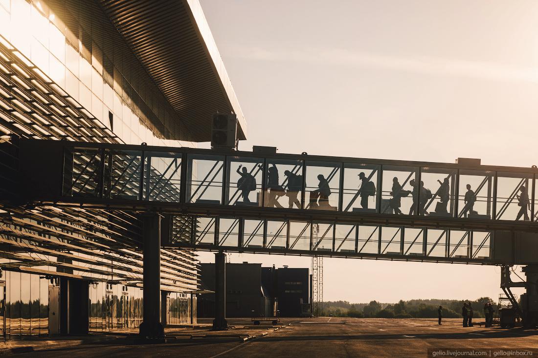 телетрап, аэропорт, кемерово, кузбасс, архитектура, новый терминал