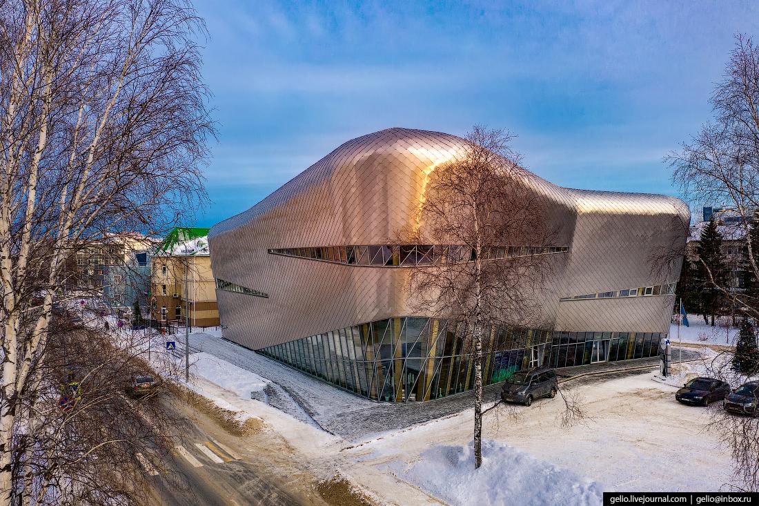 Ханты-Мансийск с высоты Югорская шахматная академия
