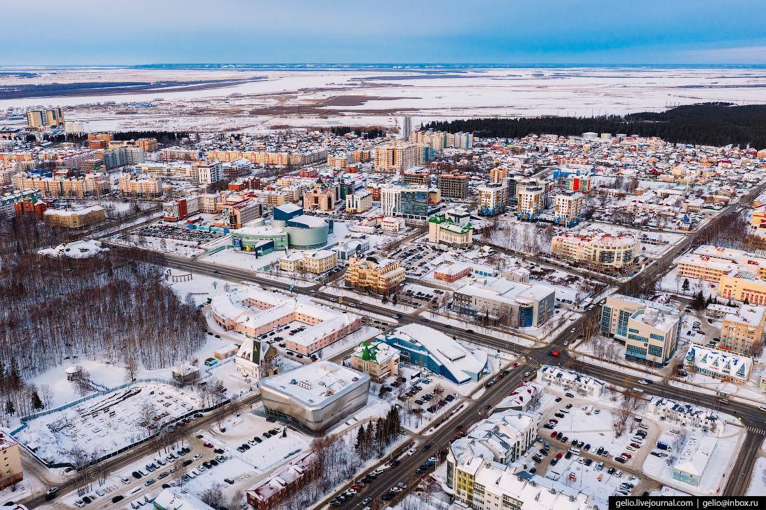 Ханты-Мансийск с высоты мира