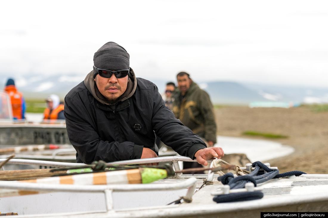 Китовая охота на Чукотке лорино