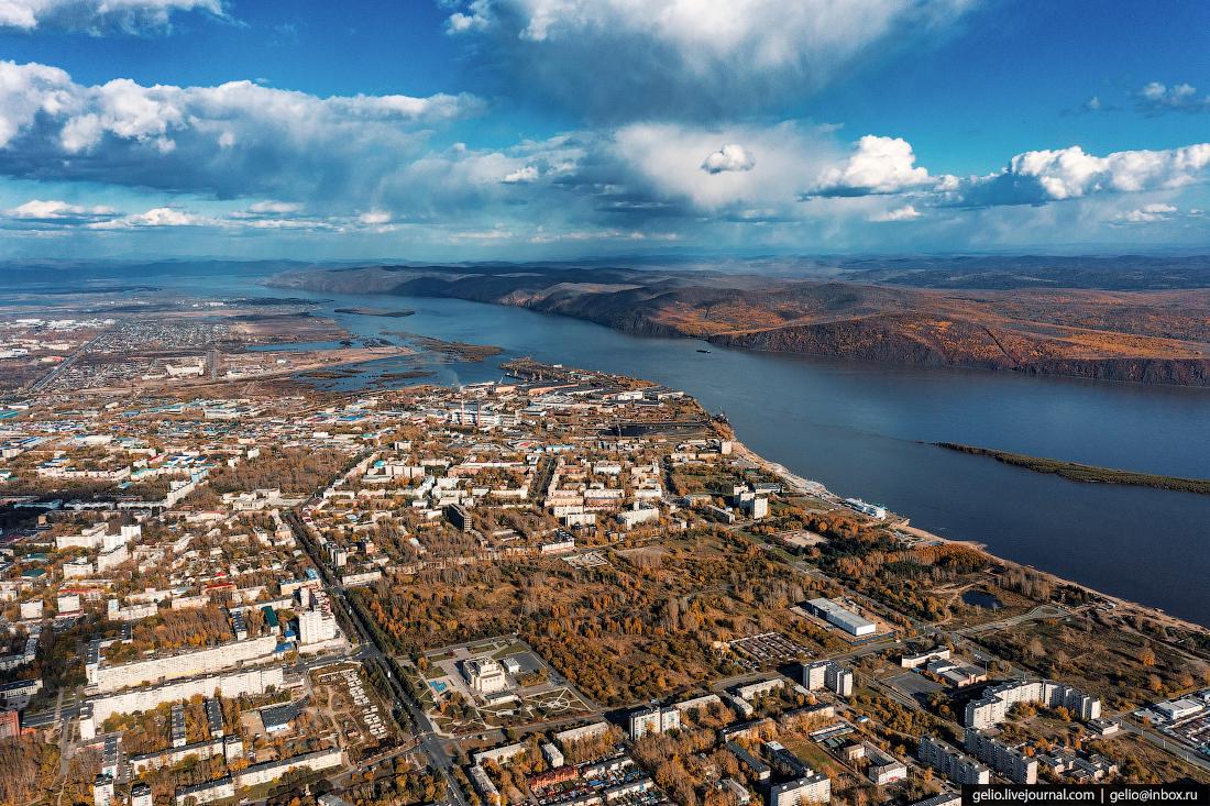 Комсомольск-на-Амуре с высоты, комса, Яблоневый сад, Парашютка