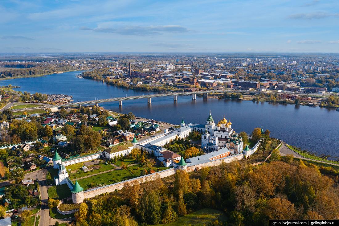 Ипатьевский монастырь Кострома