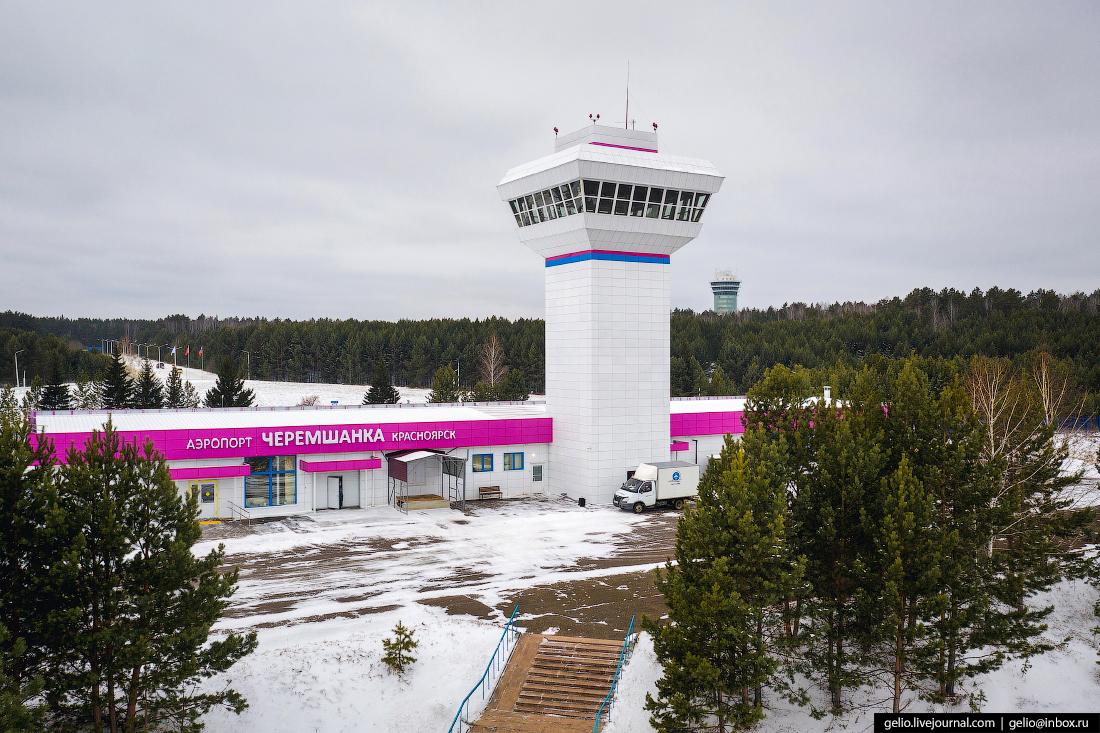 красноярск, аэропорт черемшанка