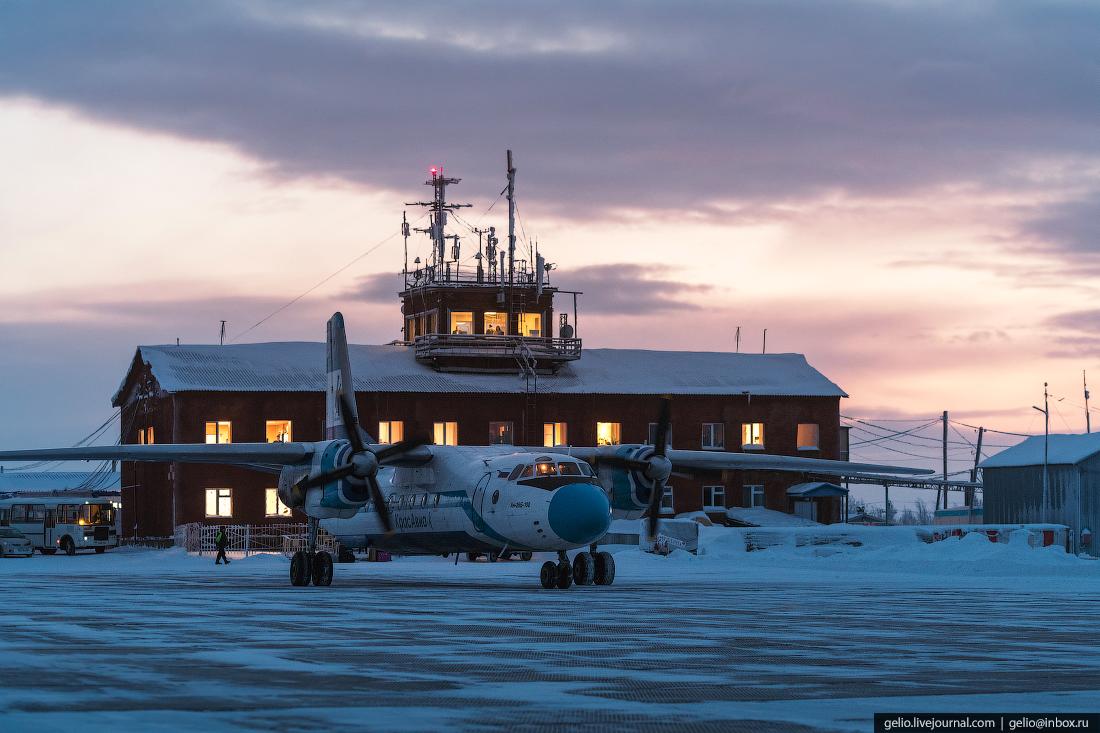 аэропорт тура горный, красноярский край, эвенкия