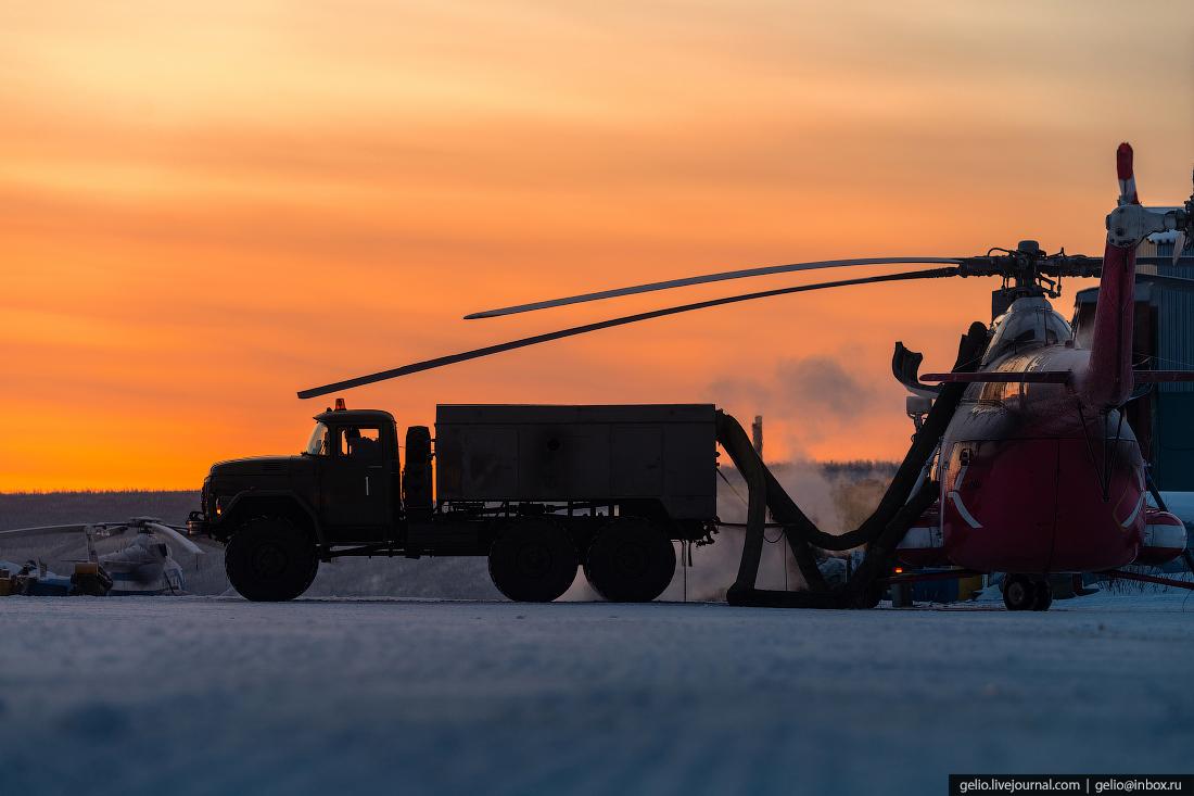вертолёт Ми-8, подготовка, Красавиа