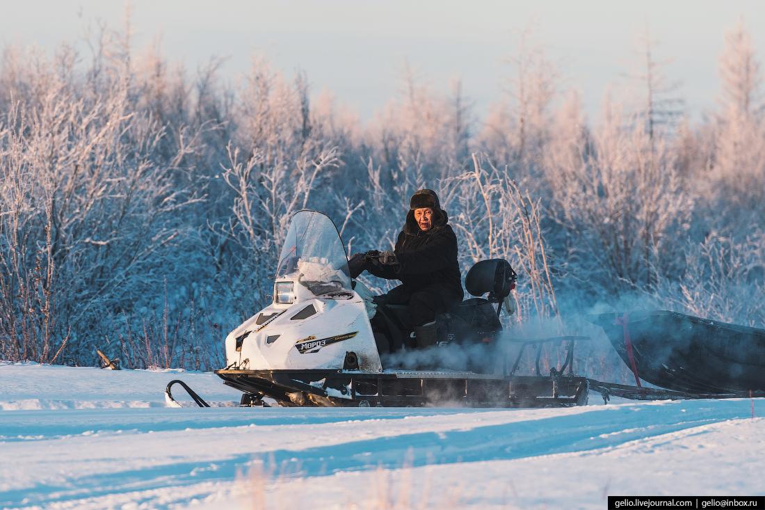 снегоход Буран, Посёлок Эконда, Красноярский край, Эвенкия