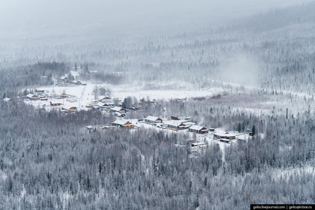 Посёлок Учами, Красноярский край, Эвенкия