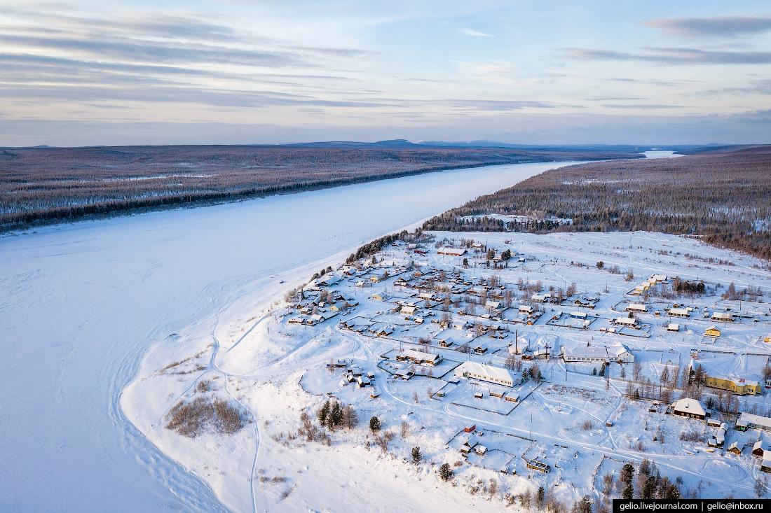 Посёлок Тутончаны, Красноярский край, Эвенкия