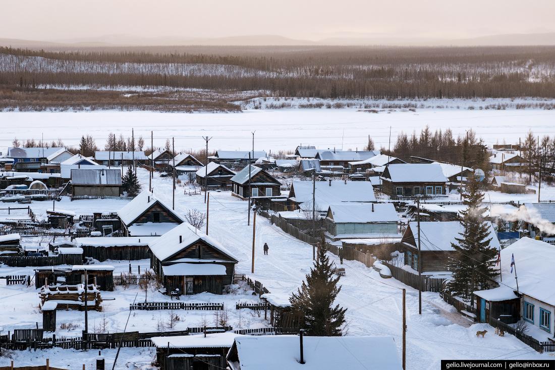 Посёлок Кислокан, Красноярский край, Эвенкия