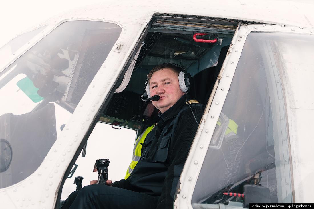 командир воздушного судна, вертолёт Ми-8, Красавиа