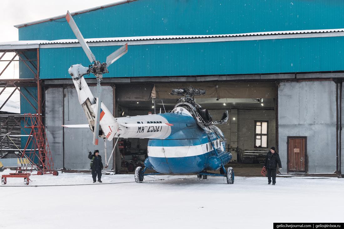 ангар вертолёт Ми-8, Красавиа