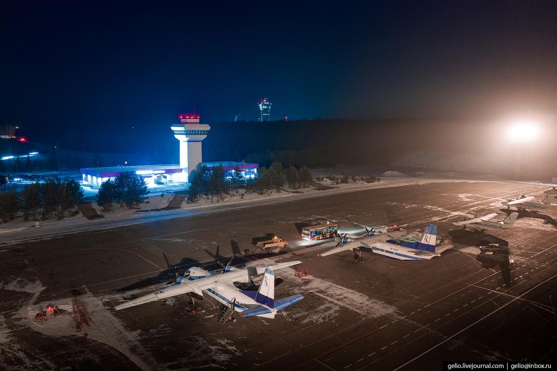 Аэропорт Черемшанка, Красноярск