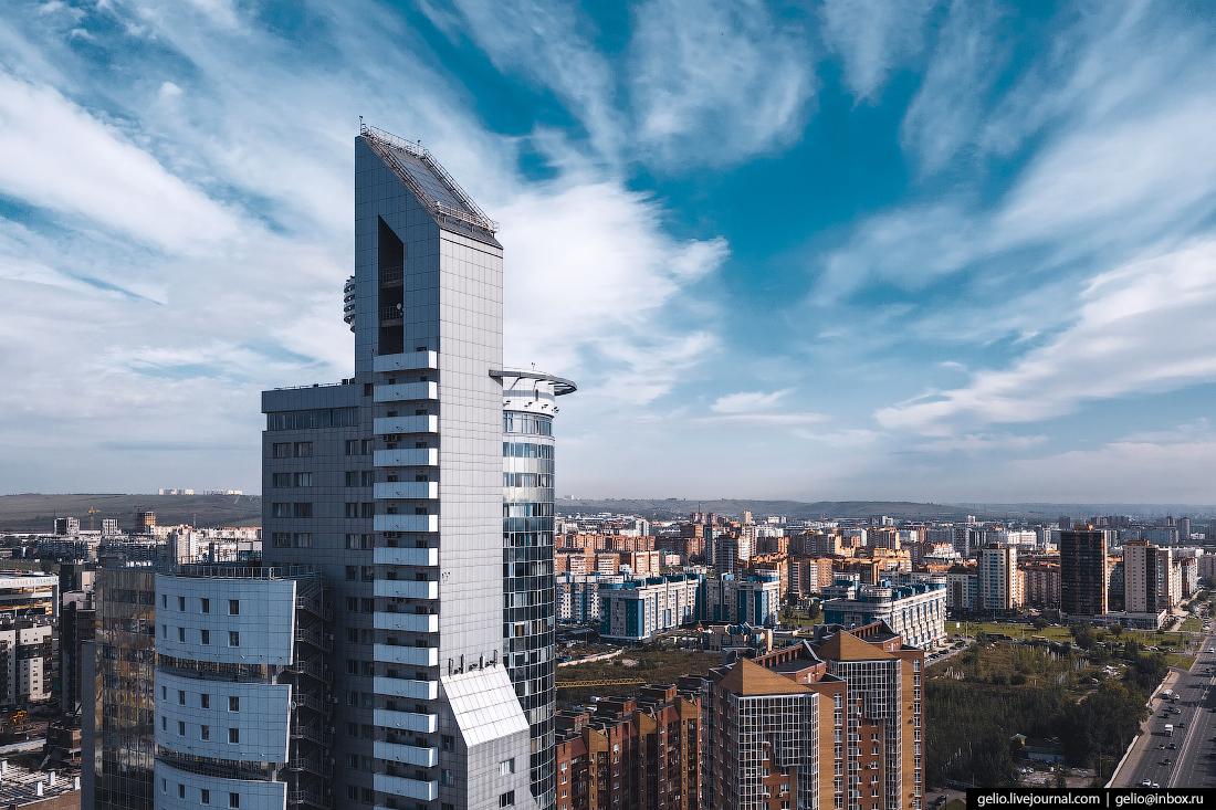 Фото Красноярска с высоты