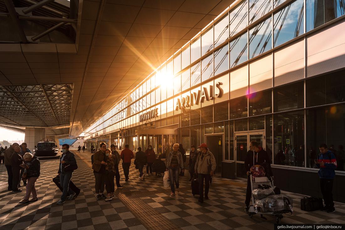 Аэропорт Красноярск Емельяново терминал