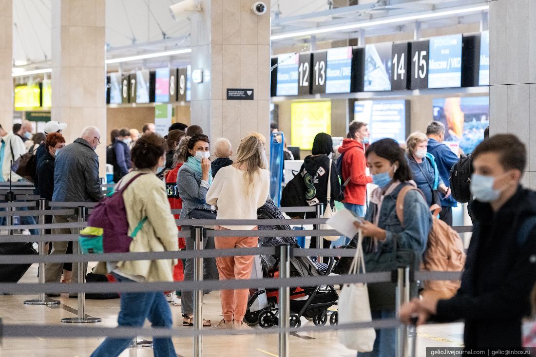 Аэропорт Красноярск Емельяново зона регистрации