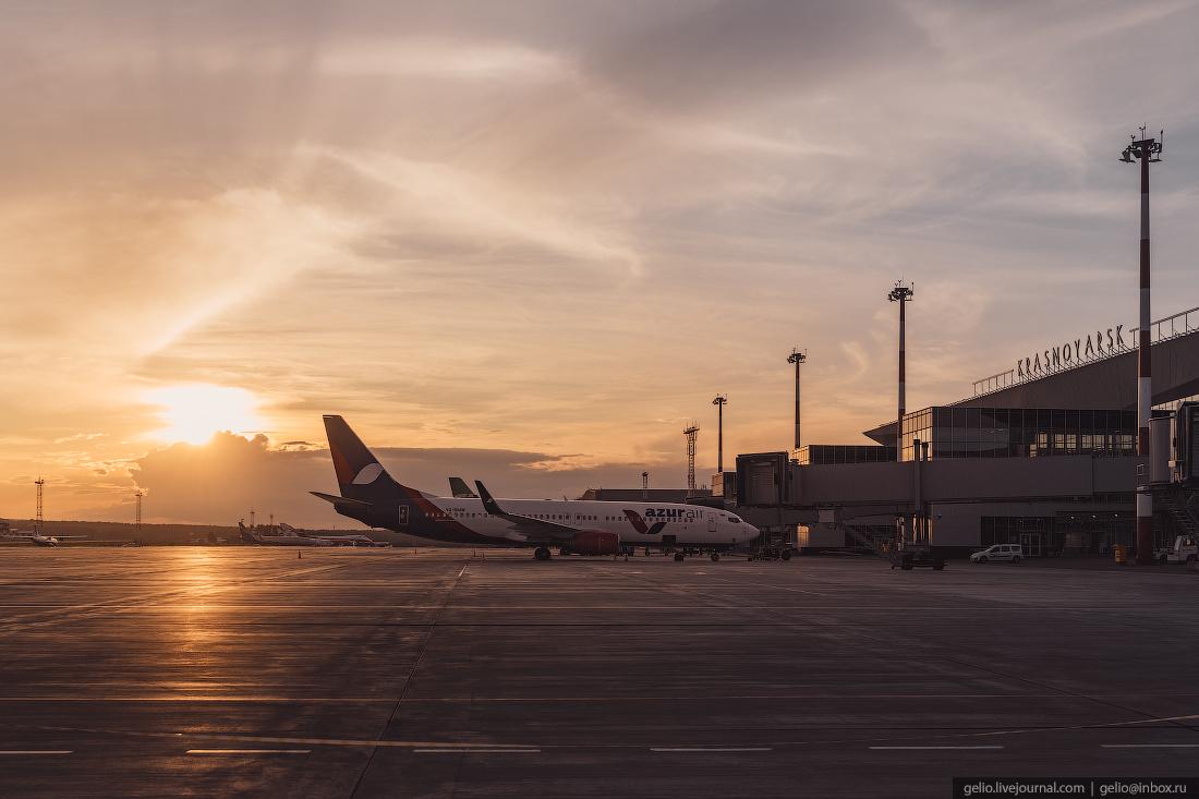 Аэропорт Красноярск Емельяново