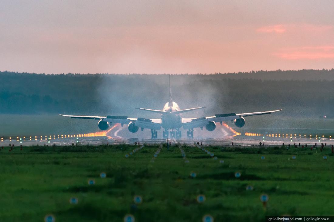 Аэропорт Красноярск Емельяново AirBridgeCargo