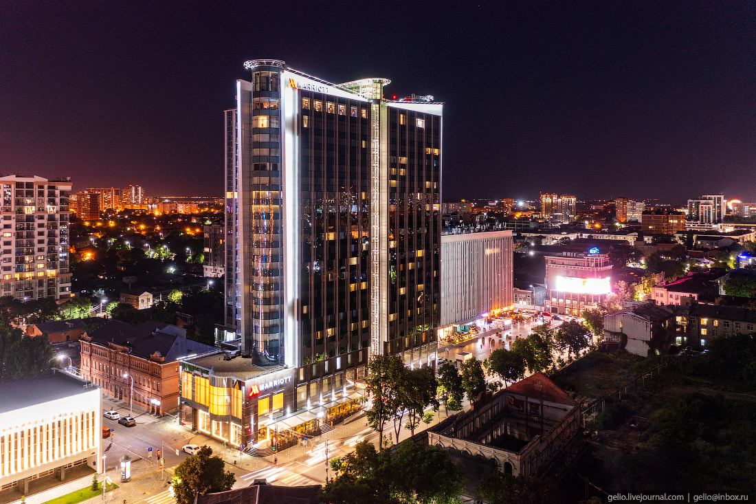 краснодар, краснодар с высоты, Marriott Hotel