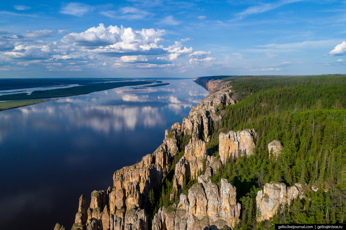 Национальный природный парк «Ленские столбы» - Якутия ... | 733x1100