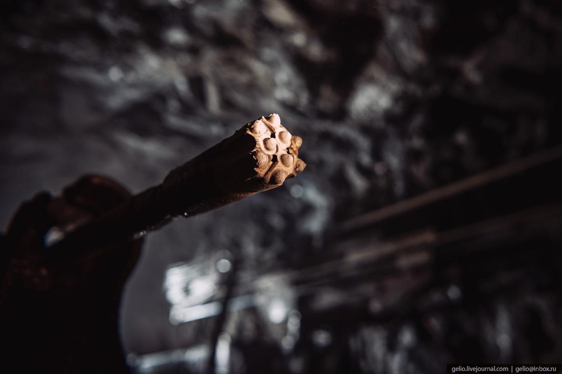 месторождение майское, чукотка, полиметалл, Буровая коронка, шахта