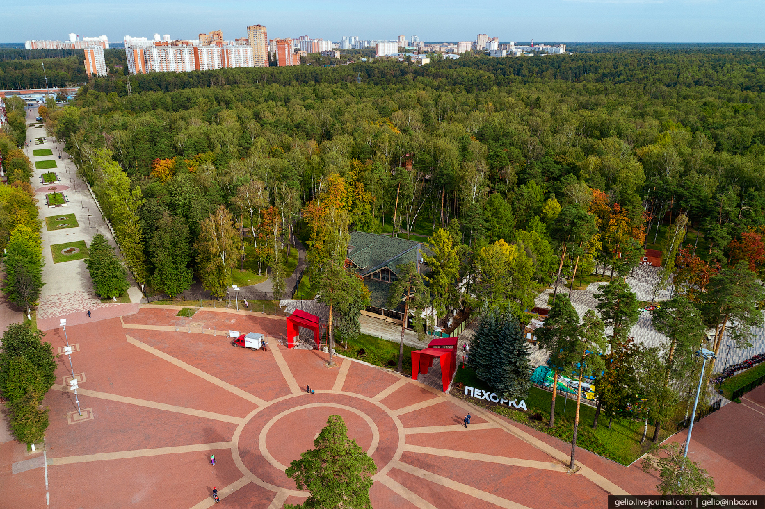 подмосковье московская область Пехорка парк