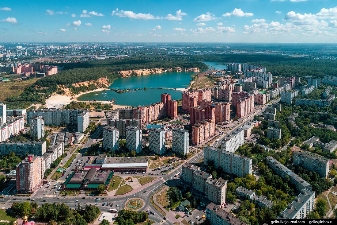 подмосковье московская область Карьер Земснаряд на границе Дзержинского