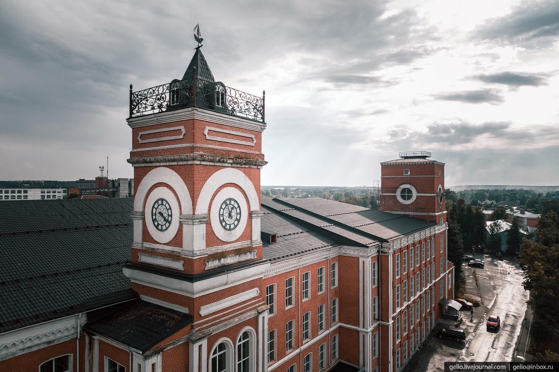 подмосковье московская область Башня с часами Егорьевск
