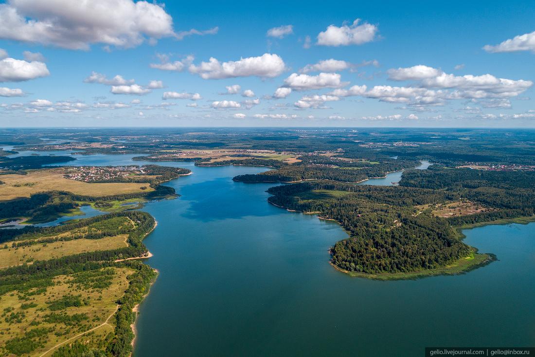 подмосковье московская область Истринское водохранилище