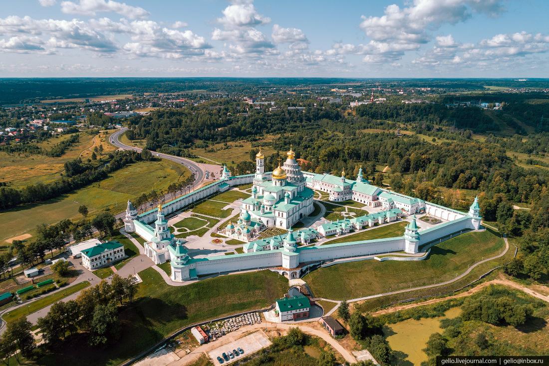 подмосковье московская область Воскресенский Ново-Иерусалимский монастырь в Истре