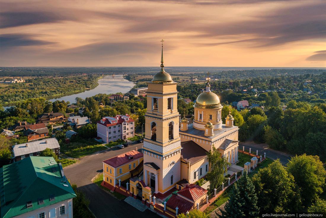 подмосковье московская область Собор Успения Пресвятой Богородицы кашира