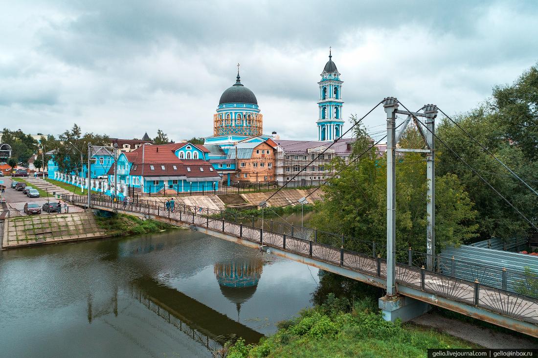 подмосковье московская область Мытищи мост клязьма