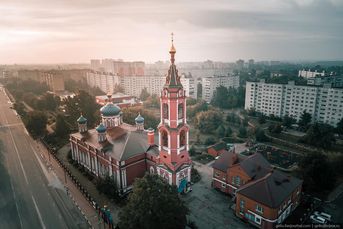 подмосковье московская область Собор Рождества Пресвятой Богородицы в городе Орехово-Зуево