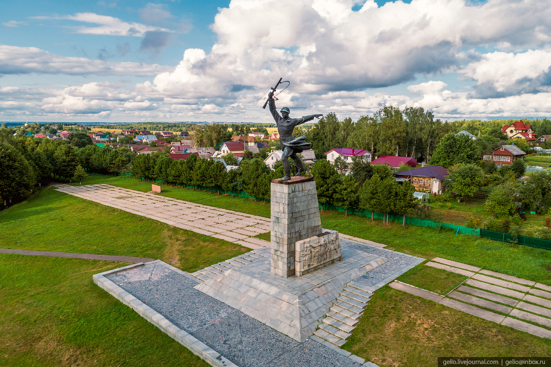 подмосковье московская область Монумент Героям битвы под Москвой на Перемиловской высоте
