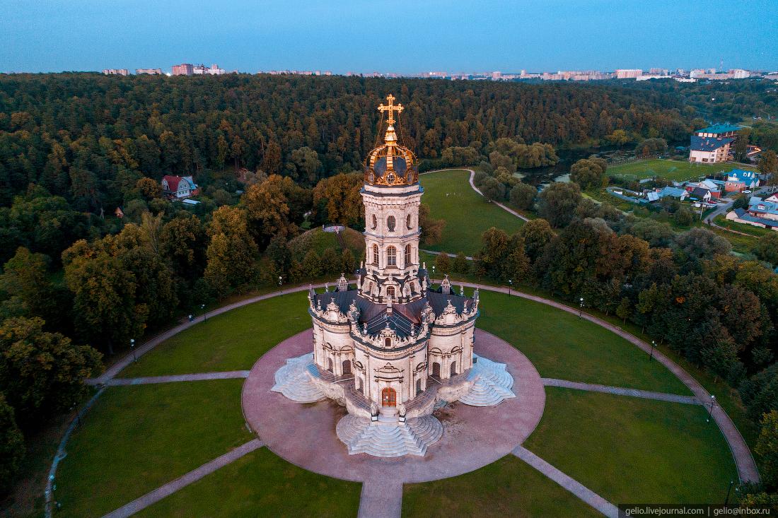 подмосковье московская область Знаменская церковь в Дубровицах