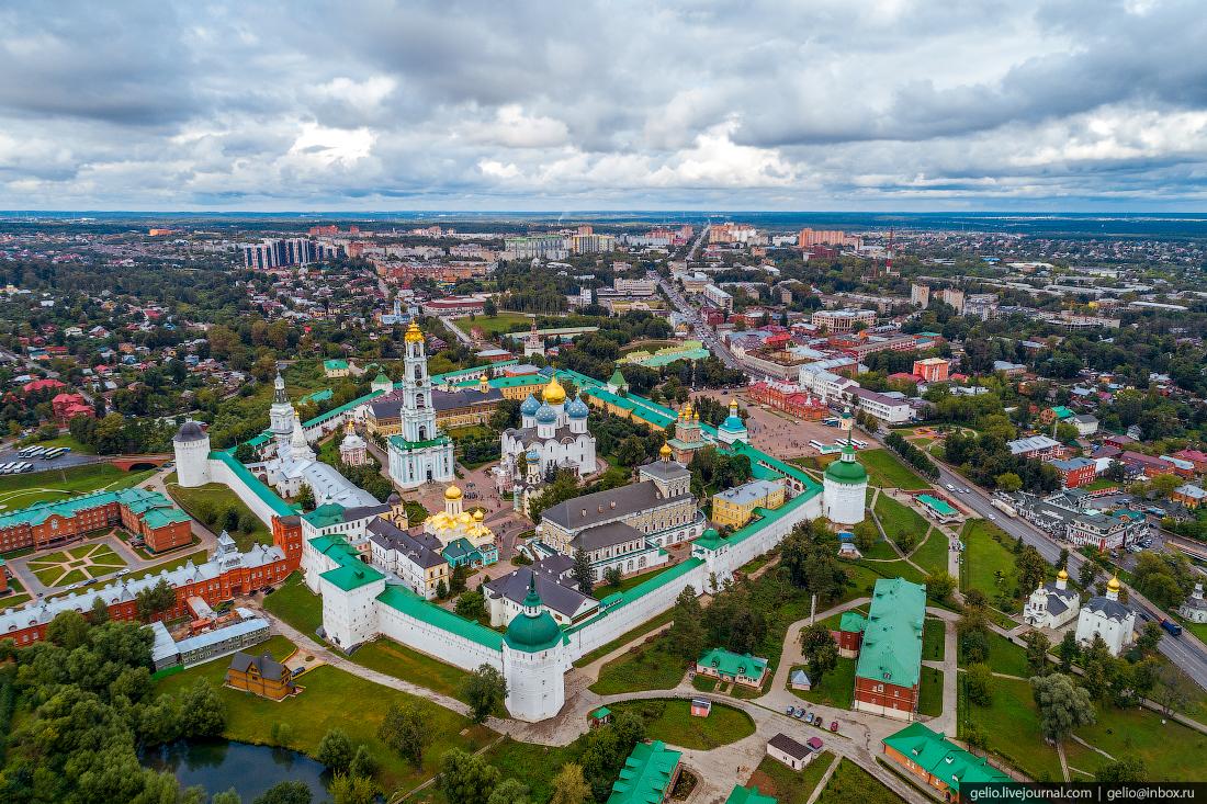 подмосковье московская область Троице-Сергиева лавра в Сергиевом Посаде
