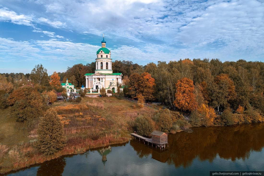 подмосковье московская область Никольский собор под Фрязино