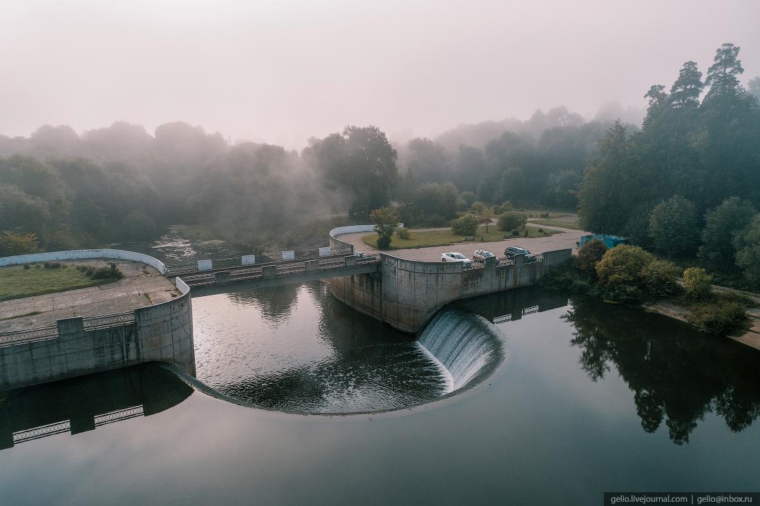 подмосковье московская область Ярополецкая ГЭС