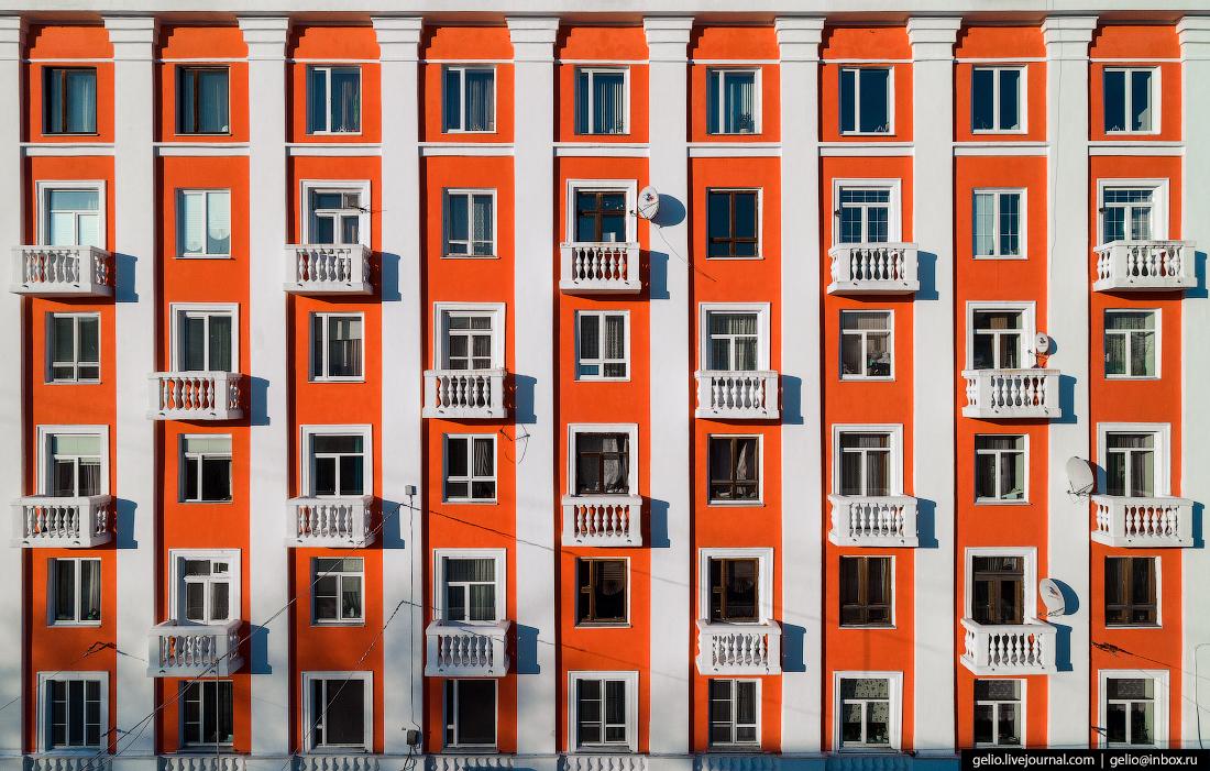 фото Мурманска с высоты, архитектура, мурманрыба