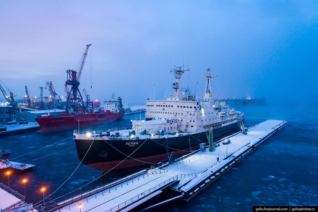 Мурманск, Атомный ледокол Ленин