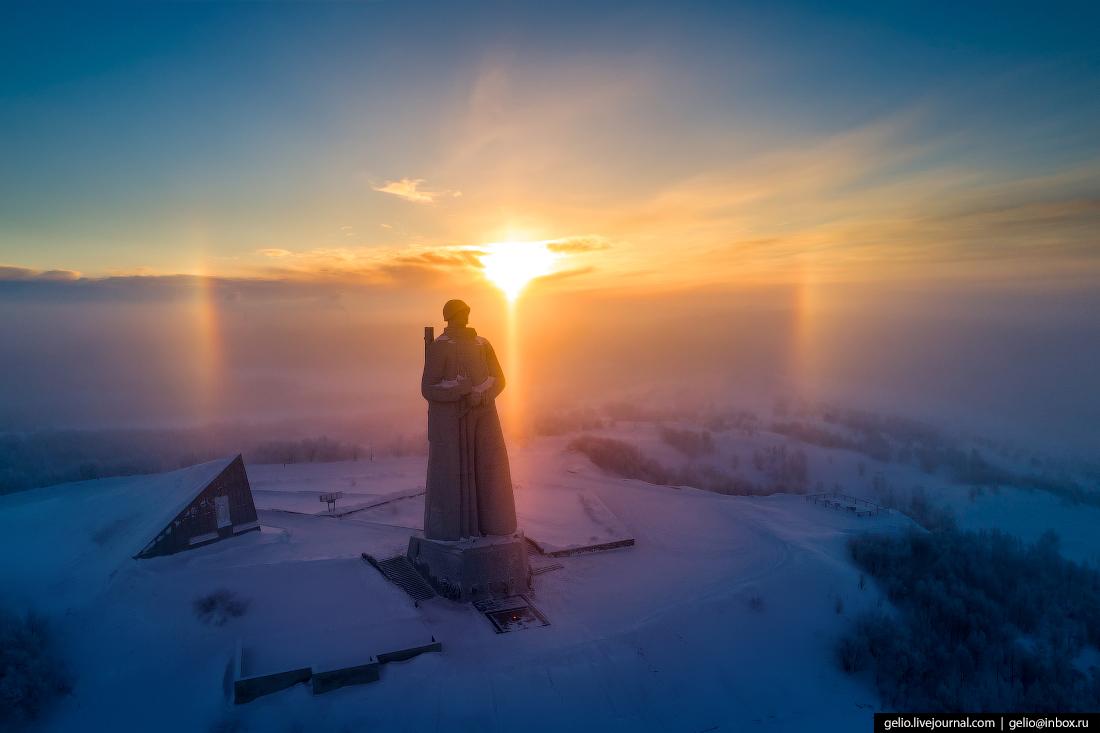 Алёша, Мурманск с высоты