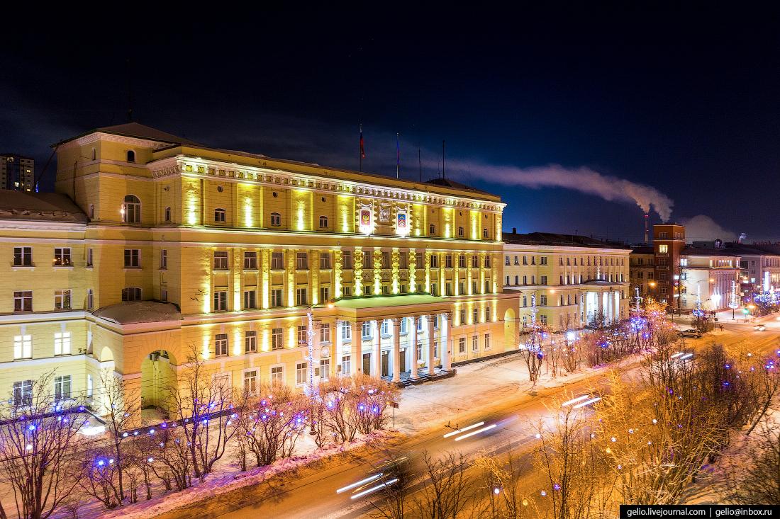 Правительство Мурманской области, администрация города Мурманска, мэрия