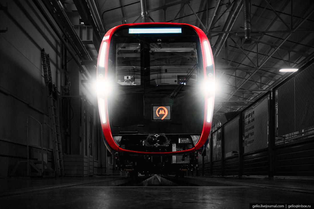 метровагонмаш, производство вагонов метро