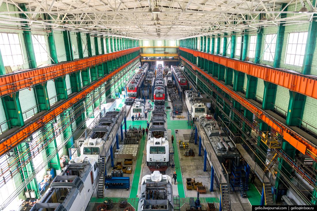Новочеркасский электровозостроительный завод: производство локомотивов в Ростовской области.